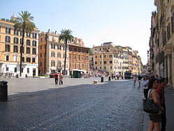 Image illustrative de l'article Piazza di Spagna
