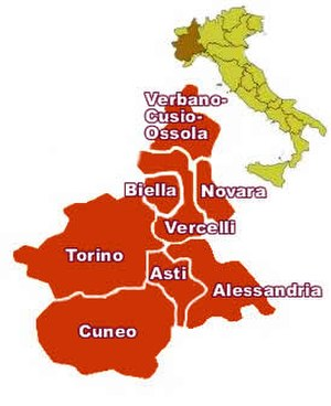 Arneis - Most of the plantings of Arneis are found in the province of Cuneo in Piedmont where the grape is used in the wines of the Roero and Langhe DOCs.