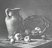 Piet Mondriaan - Kan met uijen (authentiek) - A9 - Piet Mondrian, catalogue raisonné.jpg