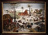 Pieter bruegel il giovane (bottega), il censimento di betlemme, 1605-10 ca. 01.jpg