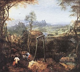Pieter il Vecchio Bruegel Magpie on the Gallow.jpg