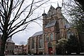 Pieterskerk (Church of st Peter) dated some 1565 (end of the building activities), now the oldest church in Leiden - panoramio.jpg