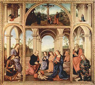 Albani Torlonia Polyptych - Image: Pietro Perugino 005