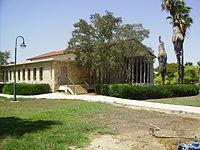 PikiWiki Israel 5772 Synagogue at Kibbutz Chafetz Chaim.JPG
