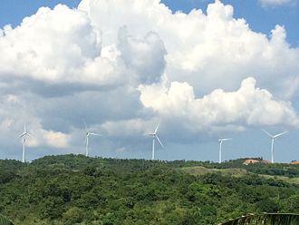 Renewable energy in the Philippines - Pililla wind farm