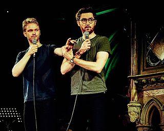 The Pin (comedy act) Comedy double-act composed of Ben Ashenden and Alex Owen