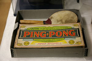 Ping Pong game by Parker Brothers, The Childre...
