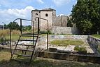 Pirot fortress and old swimming pool.JPG