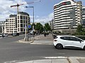 Piste cyclable Pont Autoroute A4 Rue Pont St Maurice Val Marne 1.jpg