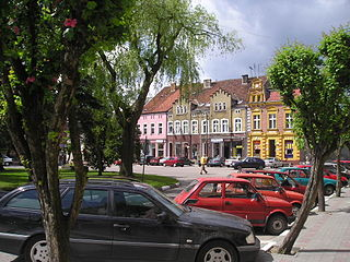Lidzbark Place in Warmian-Masurian Voivodeship, Poland