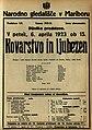 Plakat za predstavo Kovarstvo in ljubezen v Narodnem gledališču v Mariboru 6. aprila 1923.jpg