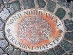 Plaque on Saint Peter's Square- Nord Nord West.jpg