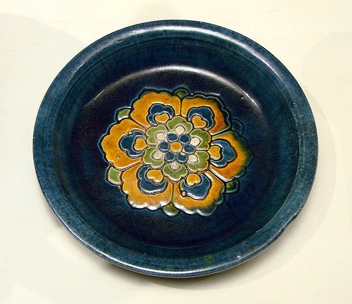 File:Plat rond Dynastie Tang Musée Guimet 2418.jpg