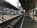Platform of Ebisucho Station (Hankai Line) 3.jpg