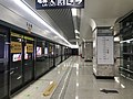 Platform of Yuejiazui Station (Line 8) 2.jpg