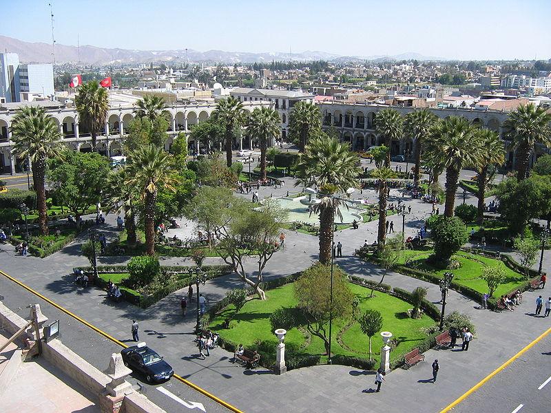 Arequipa, fot. Valentin Ramirez/Wikimiedia Commons
