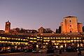 Plaza Mayor de Chinchón al anochecer.JPG