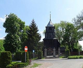 Podlesie Kościelne Village in Greater Poland Voivodeship, Poland
