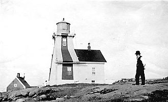 Point Prim Lighthouse - The Point Prim Lighthouse in 1874