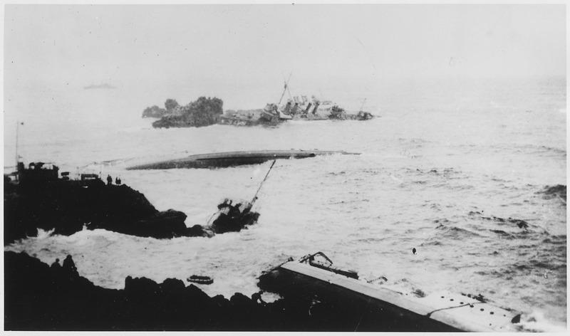 File:Point Honda wrecks, vessels - NARA - 295529.tiff