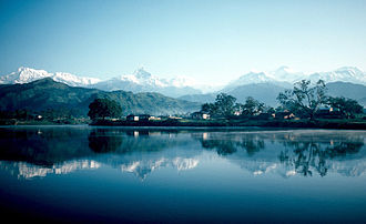 Pokhara - Phewa lake in 1982
