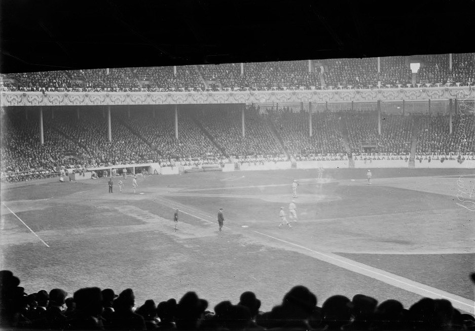 Polo Grounds 1913 World Series CROPPED