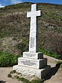 Polperro, war memorial at Downend Point - geograph.org.uk - 368556.jpg