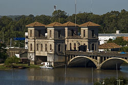 Baron of Mauá International Bridge over Yaguarón River