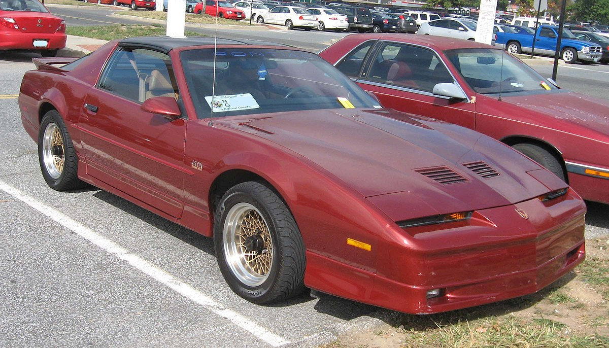 pontiac firebird  third generation