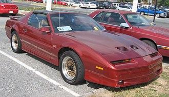 Pontiac Firebird (third generation) - Pontiac Firebird GTA