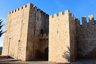 Castle of Elvas building in Elvas, Portalegre District, Portugal