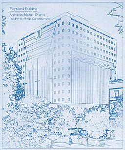Portland Building Blueprints