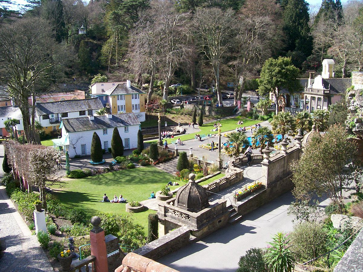 Portmeirion Travel Guide At Wikivoyage