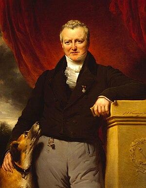 Jan Adam Kruseman - Portrait of  Adriaan van der Hoop.