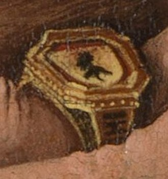 Master of the Mornauer Portrait - Image: Portrait of Alexander Mornauer ring