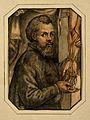 Portrait of Andreas Vesalius (1514 - 1564), Flemish anatomist Wellcome V0006032.jpg