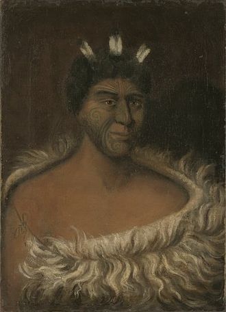 William Duke (artist) - William Duke. The Celebrated Chief Hone Heke. 1846. Canberra, National Library of Australia.