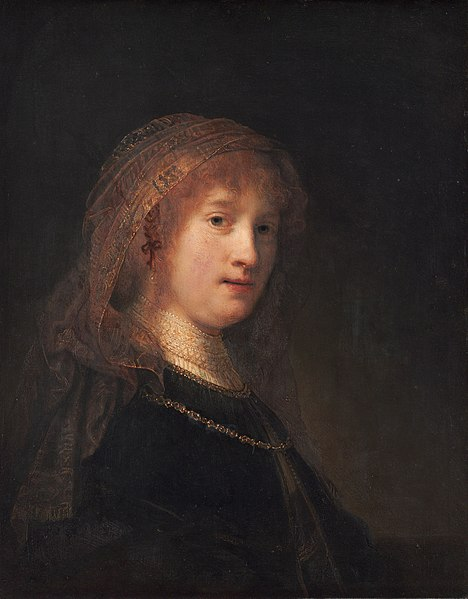 Restr:Portrait of Saskia van Uylenburgh by Rembrandt.jpg