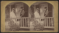 Portrait of two women standing on the porch, by Stoddard, Seneca Ray, 1844-1917 , 1844-1917.png