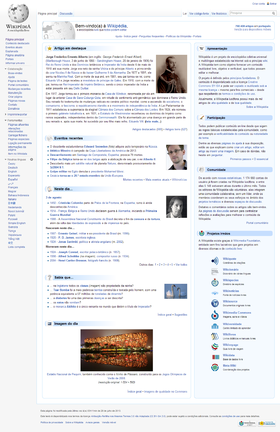 Portuguese Wikipedia - 20h08min 2 August 2013 (UTC -3).png
