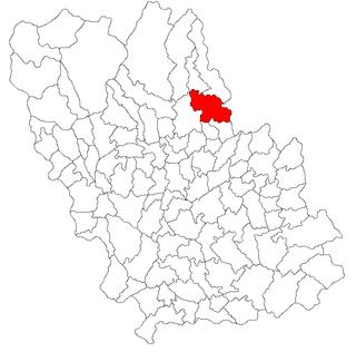Posești Commune in Prahova County, Romania