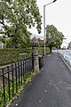 Post And Railings Protecting Raised Section Of Park Road On East Side, Extending Circa 80 Metres From Junction With Church Brow-3.jpg