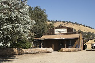 Squaw Valley, Fresno County, California - The Post Office in Squaw Valley along Highway 180