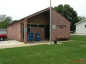 Henderson, Illinois - Henderson post office circa 2011