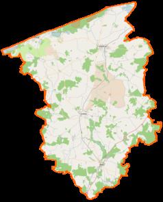 Mapa lokalizacyjna powiatu gryfickiego