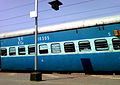 Prashanti express at Anakapalle.jpg