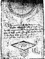 Prayer scrolls to Saints Quiricus and Julitta. Wellcome L0012610.jpg