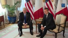 Tập tin:President Trump meets with President Emmanuel Macron of France.webm