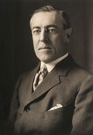 President Woodrow Wilson by Harris & Ewing, 1914-crop.jpg