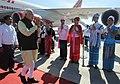 Prime Minister Narendra Modi arrives in Nay Pyi Taw, Myanmar.jpg